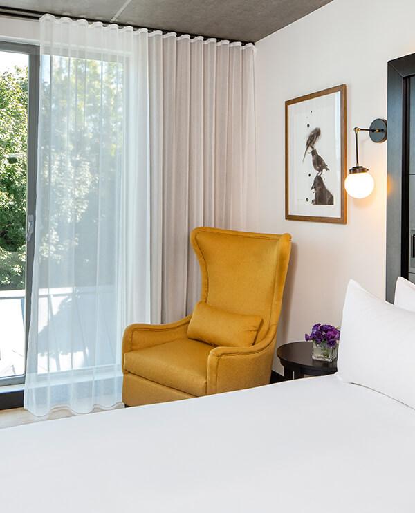 Alcove chambres de luxe vieux montr al h tel william for Chambre avec alcove