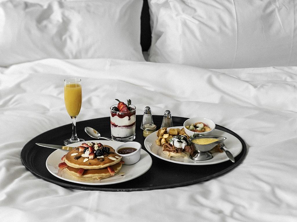 Mais d'abord, petit-déjeuner