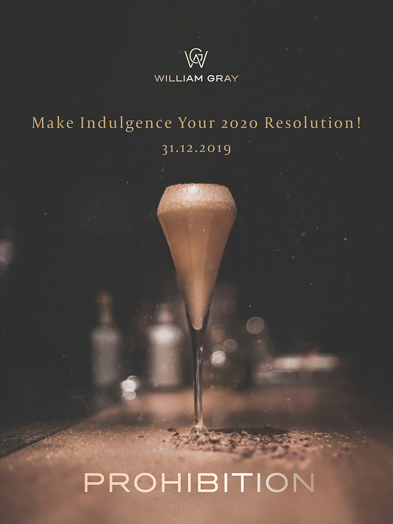 Prohibition, a night to celebrate the New Year
