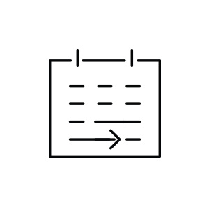Pictogramme calendrier