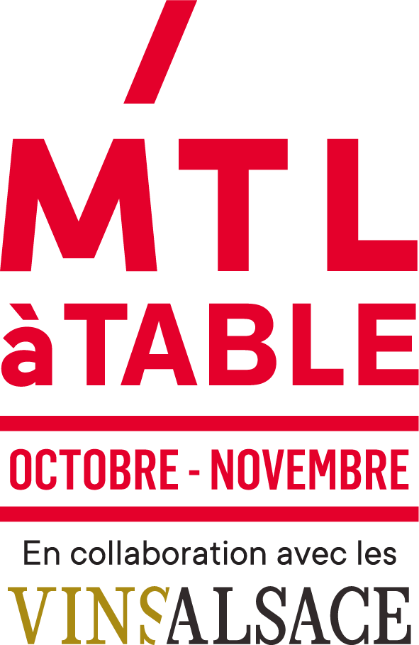 Mtl a table d'octobre à novembre logo